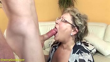 Curvy movies mature Fat grandma in love with stepson