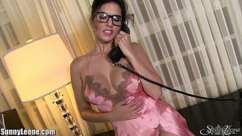 SunnyLeone Sexiest Dirty Pink Lingerie On Sunny Leone