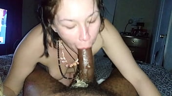 White girl mickey puke part 2 throwing up on my dick bbc