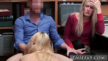 Handjob jerking blonde A mother and duddy's daughter who have been