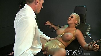 Sxtreme bdsm Bdsm xxx big breasted sub has her hole filled by strong dominant master