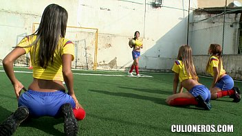 Hot Colombian Soccer Sluts