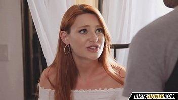 the cute redhead stepsister