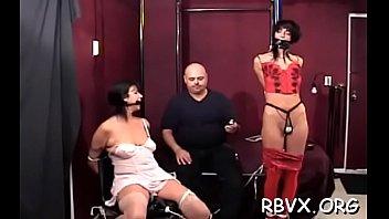 Busty sweetheart pussy stimulation