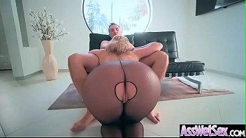 Horny Girl (Brooklyn Chase) With Big Curvy Butt Enjoy Anal Sex vid-13