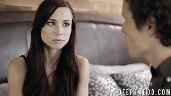 All natural Aidra Fox banged by lucky stepbrother