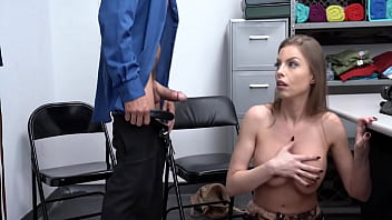 Busty Milf Caught Stealing, Punished In Back Office – Britney Amber – Shoplyfter Mylf