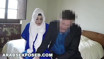 ARABSEXPOSED - Sexy Arab girl and my boss fuck her good for you to see (xc15171) thumbnail