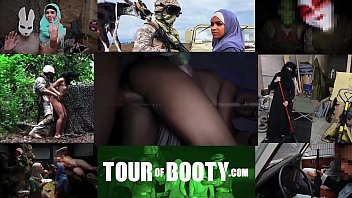 TOUR OF BOOTY - Fresh Arab Pussy For These Horny American Soldiers Vorschaubild