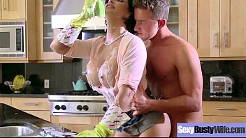 Naughty Housewife (shay fox) With Big Juggs Enjoy Hard Sex mov-26