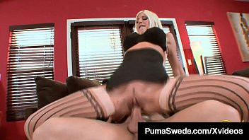 Image: Busty Blonde Bombshell Puma Swede Plowed By A Hard Dick!