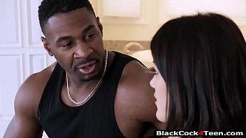 White girl ready to take big black cock