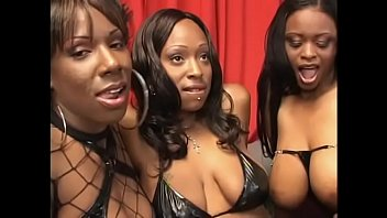 Three lesbians arfter soccer - Hardcore lesbian action with three black sluts lola lane, xxxplicit, skyy and their sex toys