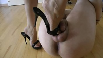 Torture cock and balls hard female - Bound and tortured shoeslave