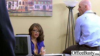 Busty Sexy Worker Girl (cassidy banks) Get Hard Style Banged In Office clip-09