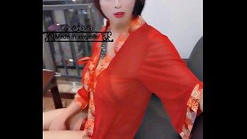 性感伪娘星籽妃中国风新娘装诱惑你
