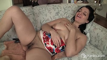 Yanks Brunette Lady Jane'_s DP Orgasm