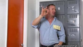Angry School Teacher Pounding Sexy Teen