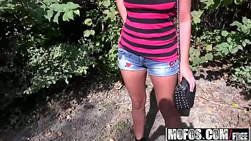 Mofos - Public Pick Ups - (Kristina Miller) - Smoking Russian Swallows Cum