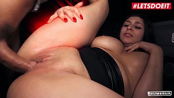LETSDOEIT - #July Johnson - German Big Tits Babe Fucks On The Van With Her Daddy At The Request Of Her Fans