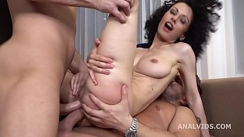 Russian Rose, Stacy Bloom 2on1 Balls Deep Anal, DAP, Gapes, ButtRose and Swallow GL298