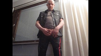 Gay leather models Finnish mr.mature leather juha vantanen 1