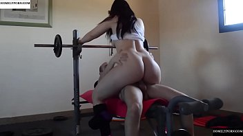 Pamela working out and getting fucked. JAV246