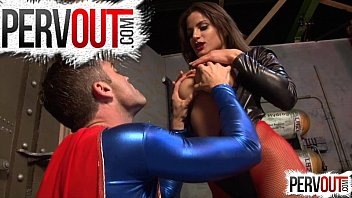 Latex and lair - Seductress enslaves superman