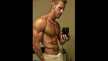 blonde muscle hunk with monstercock j.o.