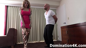 Joslyn James is ready for her BALLBUSTING session