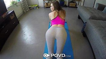 POVD Yoga big dick fucking with brunette Alex Blake