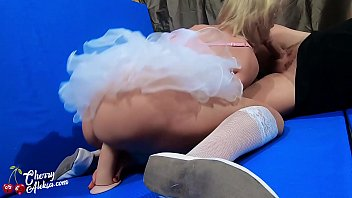 MILF Suck Big Dick Boyfriend and Rough Sex in Ballet Studio صورة