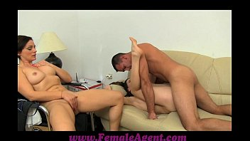 FemaleAgent Stud gets stage fright pornhub video
