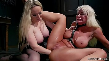 Busty mistress anal fist blonde Milf