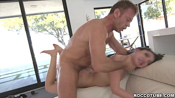 Rocco vs Jane Wilde! This scene is fucking brutal! Rocco Siffredi anal fucks and chokes Wilde so hard that she almost taps out!