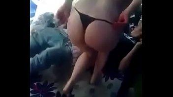 Busty amateur lesbian sex