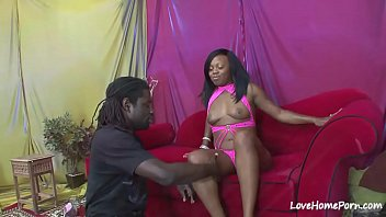 Black beauty loves to get rammed hard