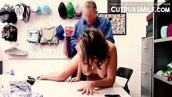 Shopowner Punishing Krissy Lynn Rough Because She Is A Shoplyfter Mylf