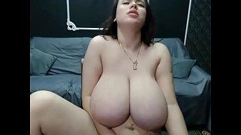 Thick big boobs pregnant milf free cam show