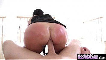 Anal Sex With Oiled All Up Horny Big Butt Girl (shay fox) movie-27
