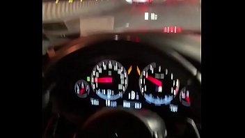 NYC Road Head in a BMW M5