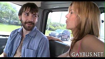 Gay man porn viedos - Lusty blowjob with a hawt homosexual