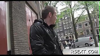 Guy makes a visit to hooker