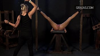 Bondage whippings A most brutal whipping of a beautiful shaved pussy