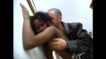Very smal tits Ebony fucked very hard in the ass - slutload.com