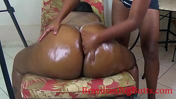 Butt cheeks massage porno izle