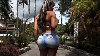 Sandra Big Colombian Booty