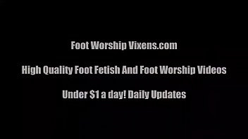 Teen foot tubes Let me suck your toes foot worship vid