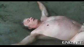 Mighty large knob penetrates a pussy wide open for him
