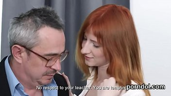 Lovely College Girl Was Seduced And Screwed By Her Older Lecturer